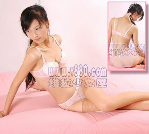 【下着モデル】中国の下着モデルお姉さん、絶妙に清楚系美人で糞エロいwwwwwwww(画像30枚)・5枚目