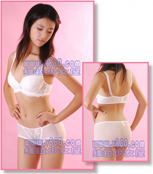 【下着モデル】中国の下着モデルお姉さん、絶妙に清楚系美人で糞エロいwwwwwwww(画像30枚)・21枚目