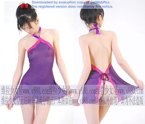 【下着モデル】中国の下着モデルお姉さん、絶妙に清楚系美人で糞エロいwwwwwwww(画像30枚)・22枚目