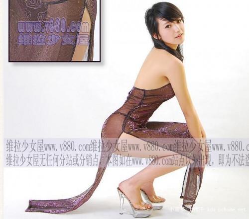【下着モデル】中国の下着モデルお姉さん、絶妙に清楚系美人で糞エロいwwwwwwww(画像30枚)・27枚目