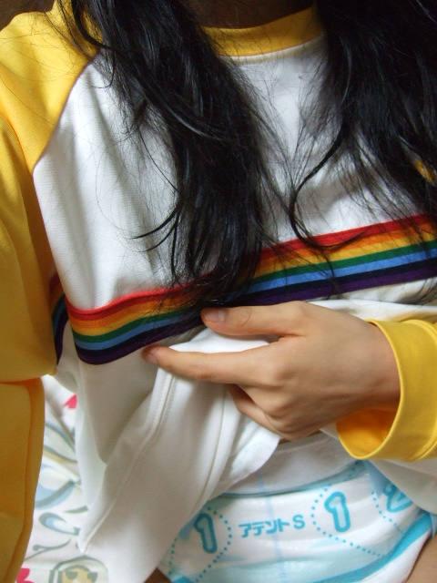 【おむつ女子】コレを楽しみだしたらもう末期、おむつプレイを楽しむ女の子のエロ画像が正直キツい・・・・・・27枚目